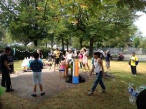 Biltmore picnic