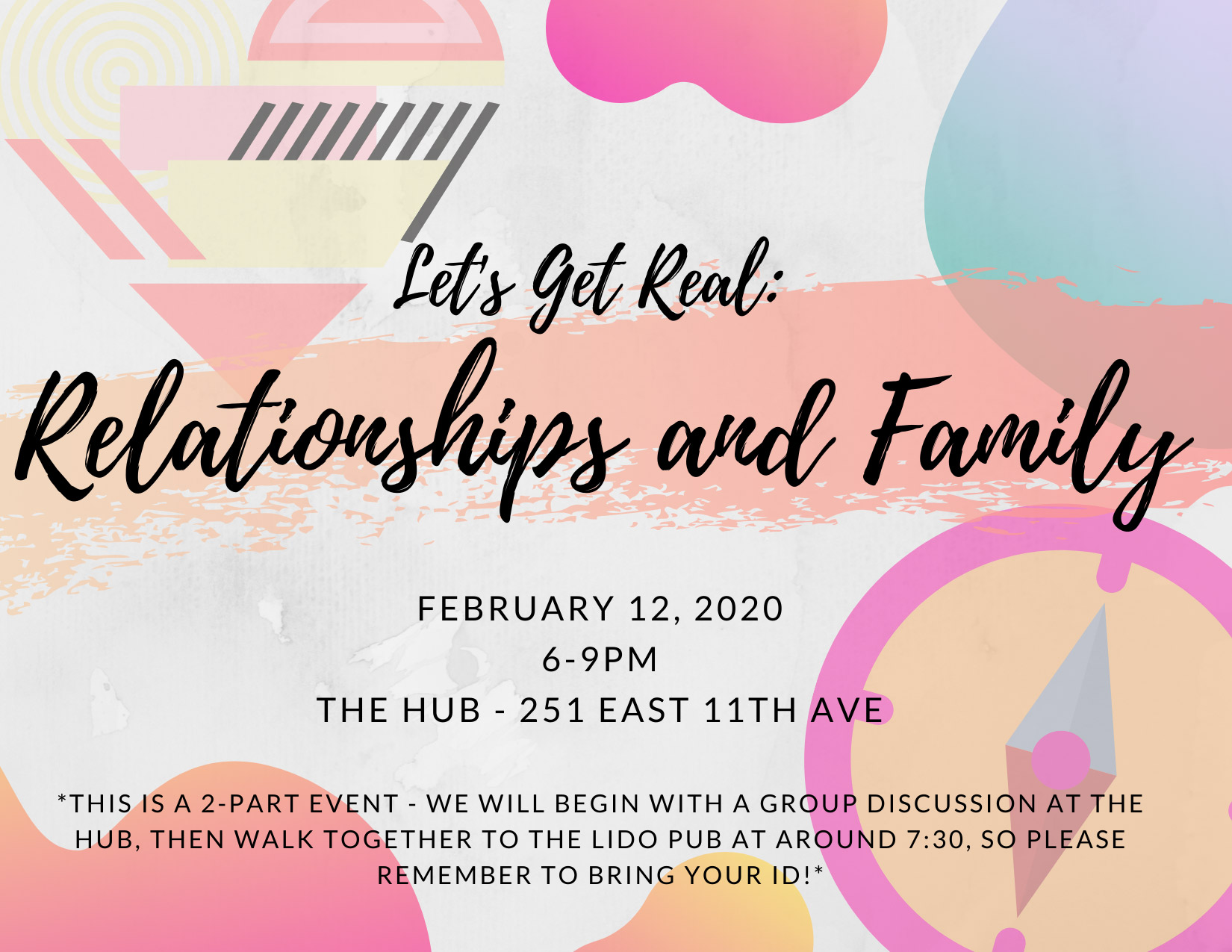 Relationships and Family Event